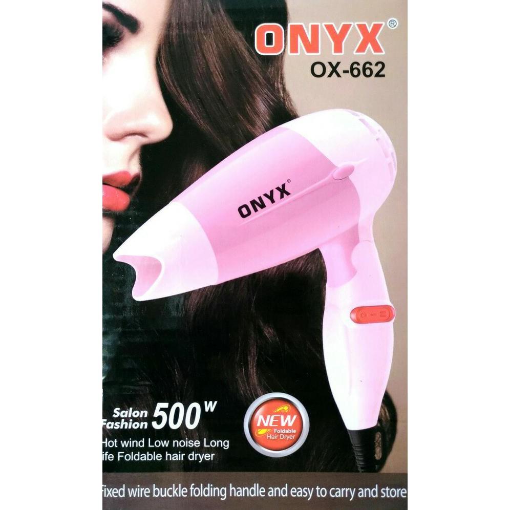 Hair Dryer Mini Lipat Onyx OX-662 Foldable Hair Dryer-Pengering Rambut  715a0b081b