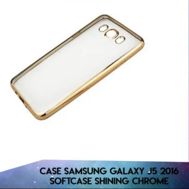 Case Samsung Galaxy J5 2016 J510 Shining Chrome Ultrathin | Shopee Indonesia