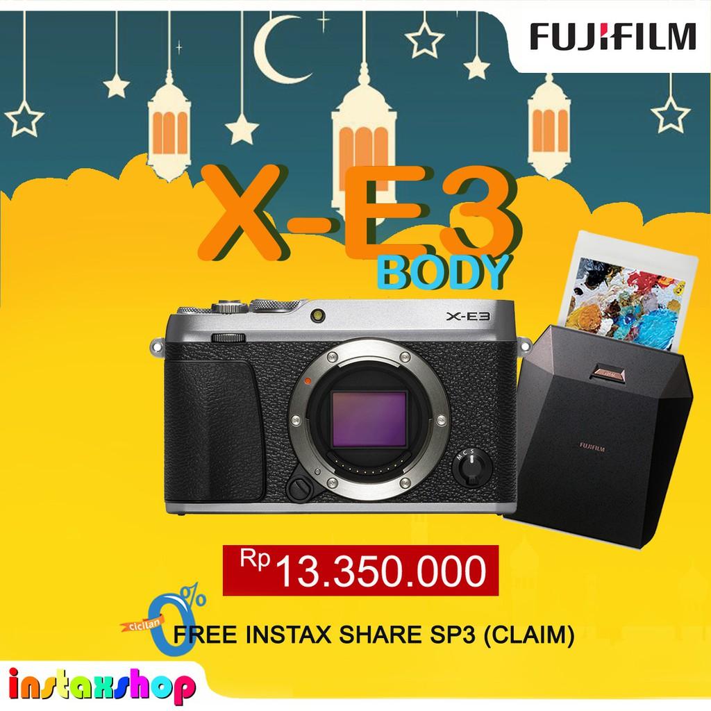 Promo Harga Fujifilm X T20 16 50mm Lens Black Bonus Instax Share Sp2 Kit Xf18 55mmblack Pwp Xf 35mm F 2 Daftar 18 55mm