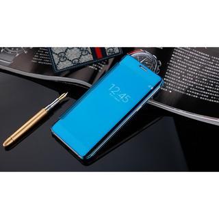 Samsung Galaxy A520 A5 2017 Smart Flip Mirror Case Cover Hard Back Casing .