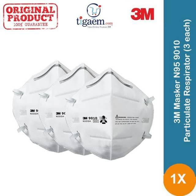 Grade pcs Tipe 3m 9010 N95 Masker Medical