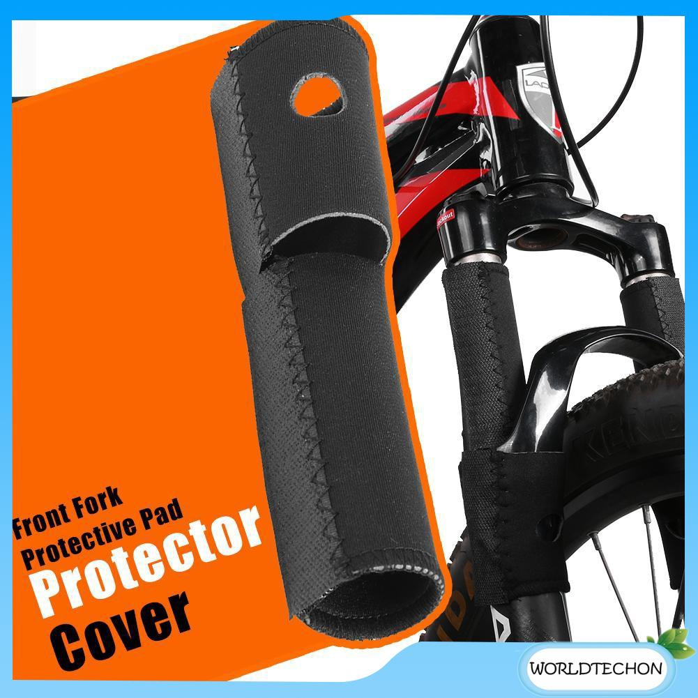 2 x Bike Bicycle Chain Guard Protector Frame Protector Cover Pad Neoprene Black