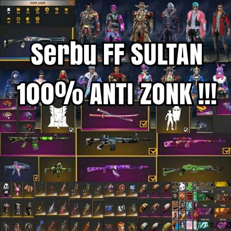 SERBU Akun FF Murah Sultan Old Aman Termurah Season 1 GGi901