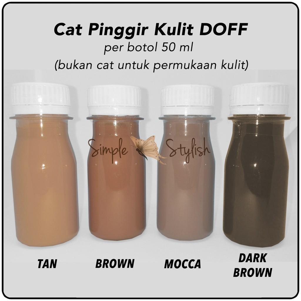 Cat Kulit Untuk Jaketsepatutasdompetdll Shopee Indonesia Sepatu Tas Jaket Premium Leather Paint