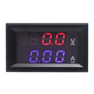 600V//50A DC Digital Voltmeter Ammeter Monitor 12V 24V Solar CAR Battery Charge