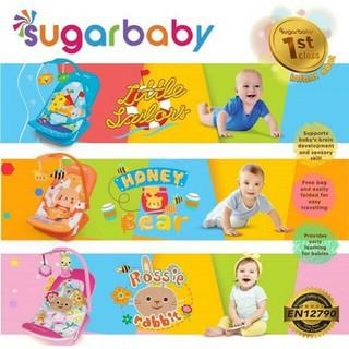 #00 OBRAL Bouncer Sugarbaby Infant Seat Sugarbaby Tempat Duduk Bayi Sugar Baby I love Bear Bouncher