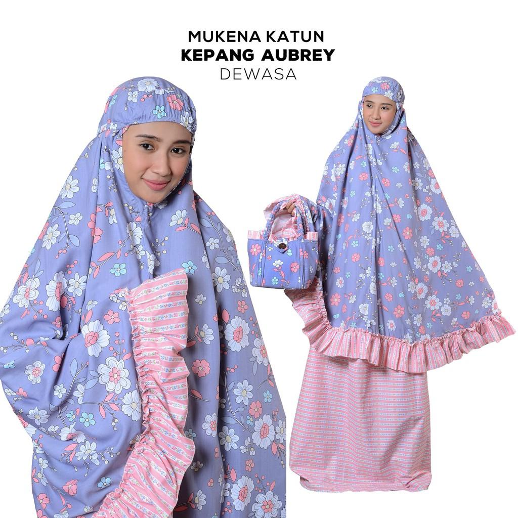 Mukena Katun Anak FLORIDA Tas Kepang dengan Bahan Katun Jepang-Dewasa- Mukenah CantikModern | Shopee Indonesia