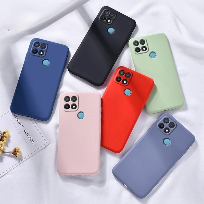 Soft Case Pelindung Kamera Bahan Silikon Untuk Oppo A15 A15S