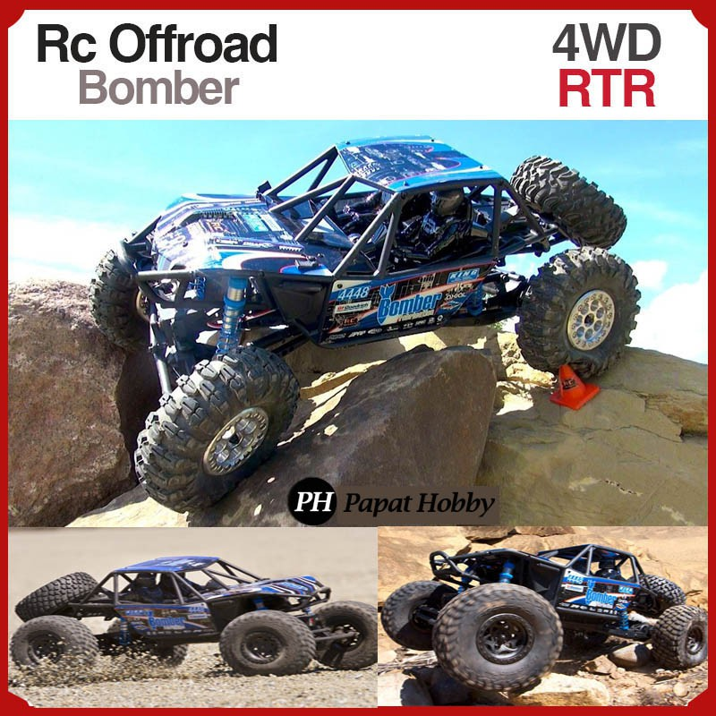 4X4 Off Road >> Rc Offroad 4wd Rock Crawler Rtr Mobil Remote Control Besar Offroad 4x4 Waterproof Rc Car 4hobby