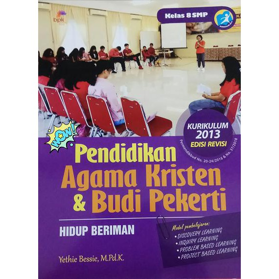 Pendidikan Agama Kristen Dan Budi Pekerti Smp Kelas 8 Kurikulum 2013 Shopee Indonesia