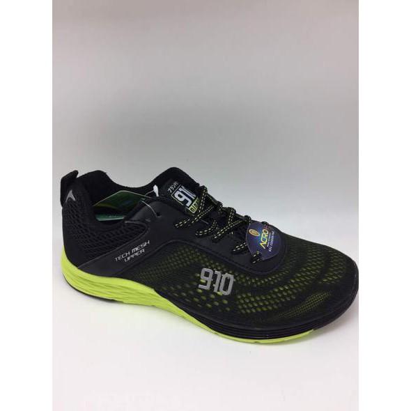 5af06953bfb7 OLAHRAGA Sepatu running 910 original NTS One Hitam hijau neon new 2017    Heboh