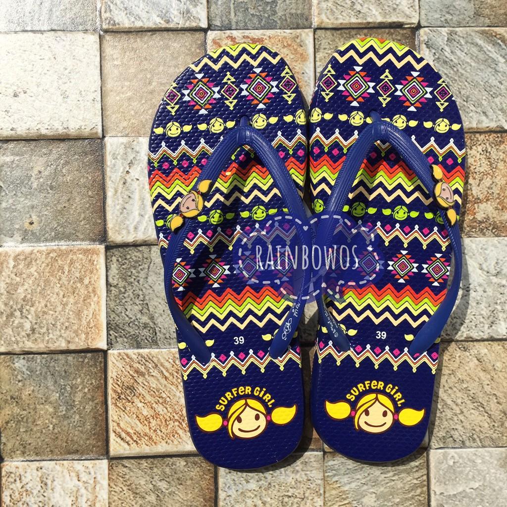 dd648446b6c0 Sandal Surfer Girl Tribal 02 Navy