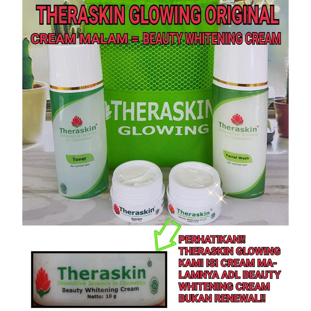 Up To 54 Discount From Brand Theraskin Original Paket Teraskin Glowing Cream