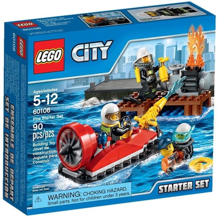Api Pemadam Set Fighter Lego Kebakaran Fire Starter City60106 eD29bWEHIY