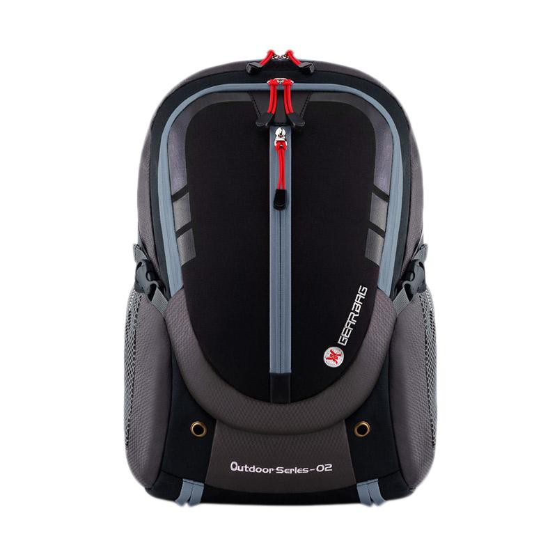 Tas Ransel Laptop Outdoor Daypack Travel Bonus Tas Selempang 13032
