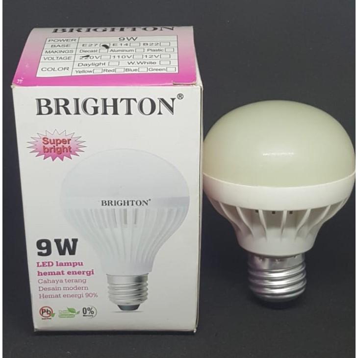 Lampu Bohlam Led Brighton 9 Watt Hemat