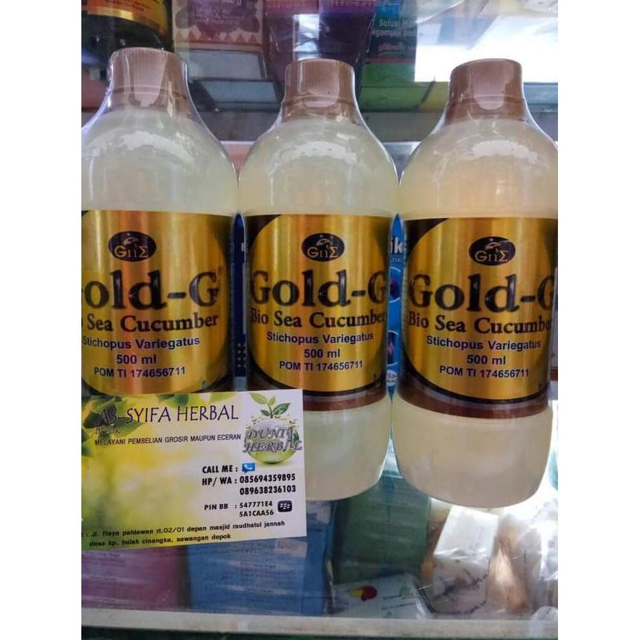 Gold G Sea Cucumber 500ml 2 Botol Spec Dan Daftar Harga Terbaru Gamat 500 Ml Spesial Exslusive Jelly Asli Termurah Orginal
