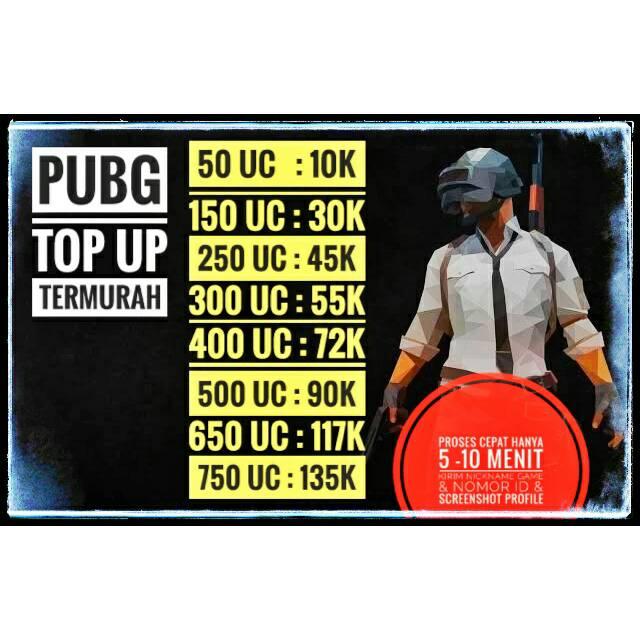 660 3850 Uc Pubg Mobile Shopee Indonesia