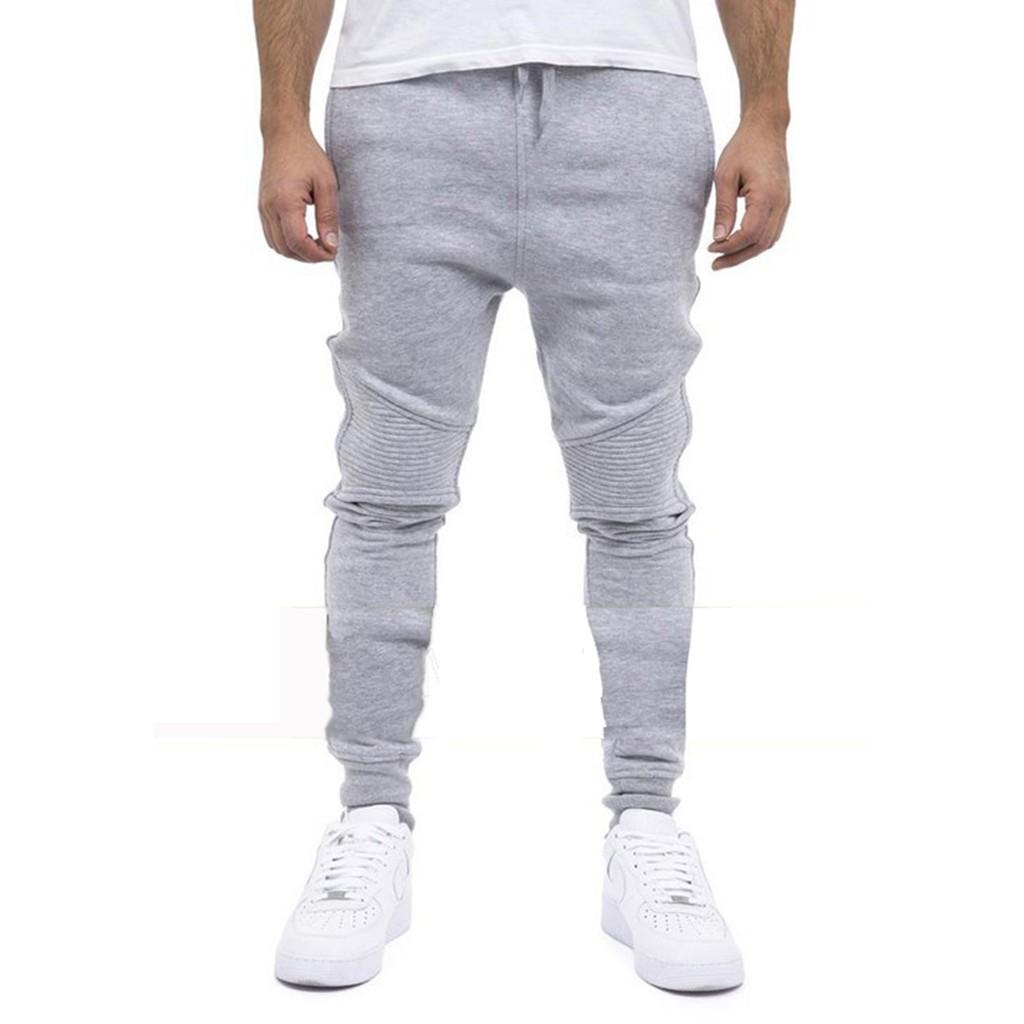 Nioi 2019 New Arrival Stylish Slim Joggers Pants Men Pantalons Homme Hombre Shopee Indonesia