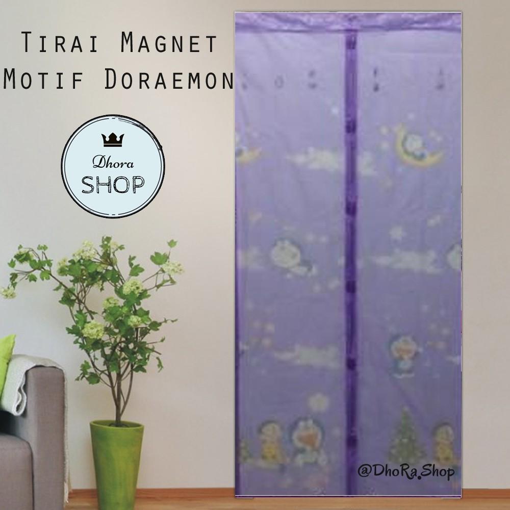 Owl Tirai Magnet Pintu Anti Nyamuk Motif Shopee Indonesia Tmp312c