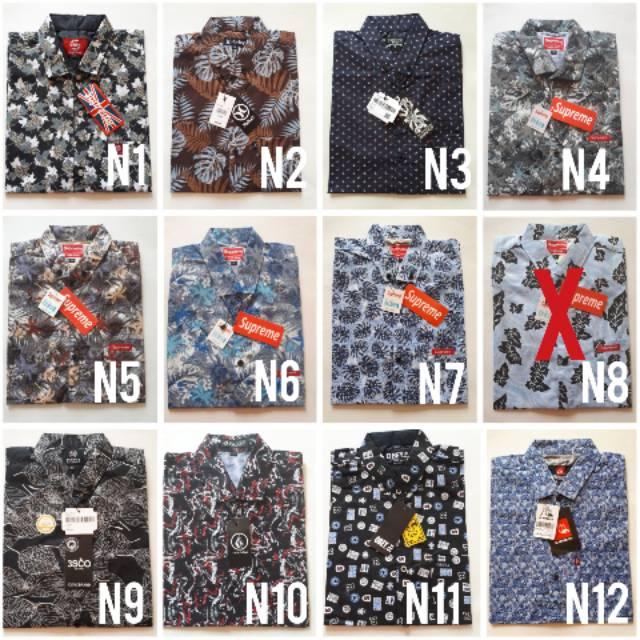 KEMEJA FLANEL LENGAN PANJANG SLIMFIT PREMIUM PAKAIAN COWOK CASUAL DISTRO HITAM NAVY KOTAK TERBARU 99 | Shopee Indonesia