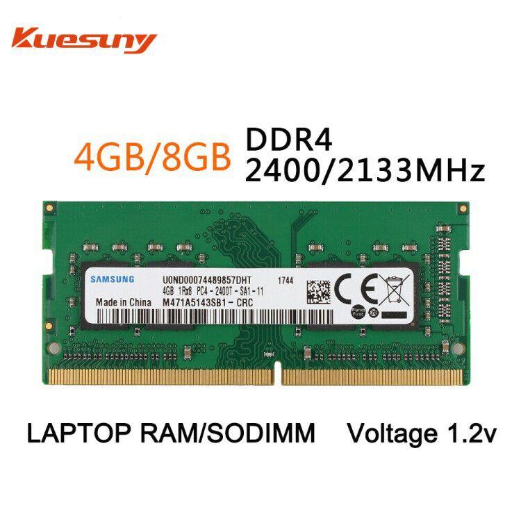 SK Hynix 8GB DDR4 Laptop RAM PC4-2400T 2400MHz 260pin SoDimm one chip