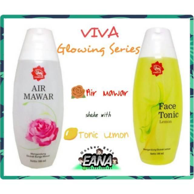 Face Tonic Lemon Dan Air Mawar Viva Untuk Kulit Berjerawat