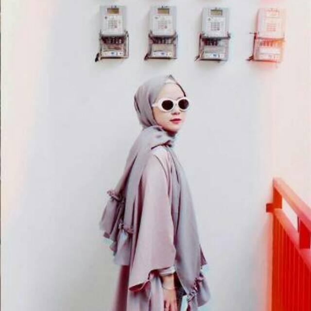 Jilbab Pashmina Rempel Diamon Sabyan Shopee Indonesia