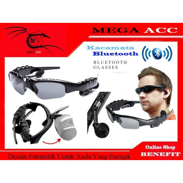 MP3 Sunglasses With Bluetooth Kacamata MP3 Bluetooth y2032  d95b8c82b5