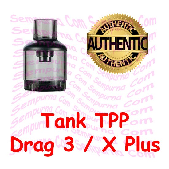 Cartridge Tank TPP Drag 3 / X PLUS 5.5 ML DM1 DM2 Authentic