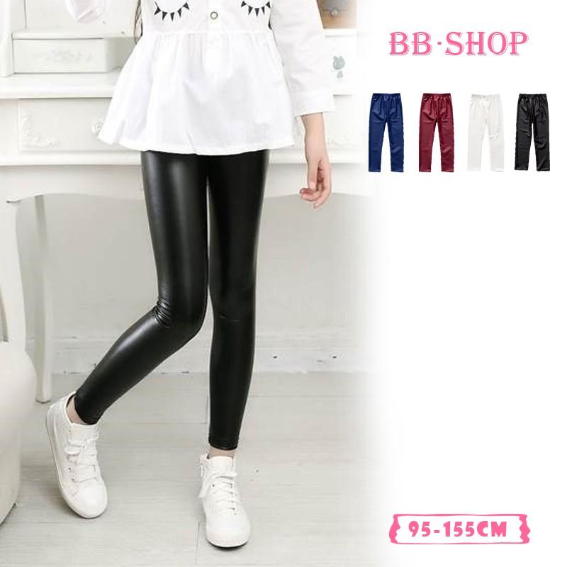 Bb Shop Legging Anak 4 Warna Kain Mengkilap Celana Legging Panjang Bahan Kulit Pu Halus 102301 Shopee Indonesia