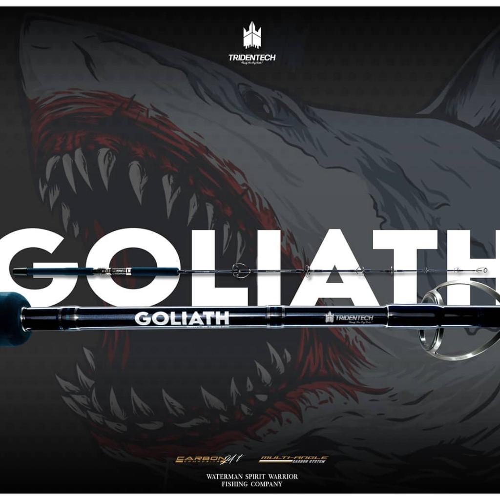 TRIDENTECH GOLIATH GTS 552 / ROD TRIDENTECH GOLIATH / JORAN TRIDENTECH HEAVY JIGGING & BIG GAME ROD