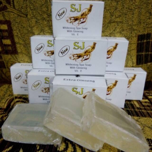 Sabun Sj Ginseng Batangan Putih Bening Shopee Indonesia