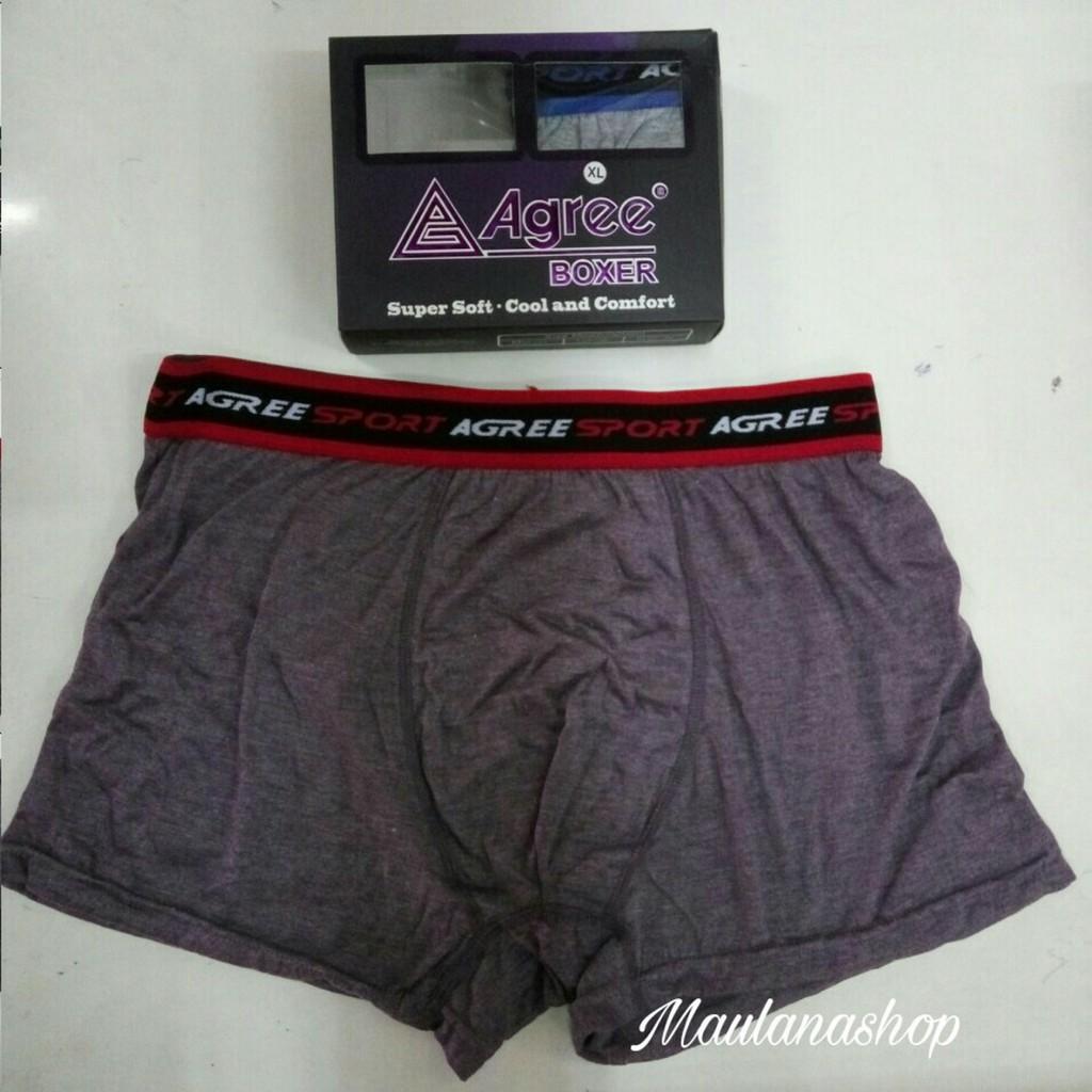 boxer agree - Temukan Harga dan Penawaran Pakaian Dalam Online Terbaik -  Pakaian Pria November 2018  f866c67232
