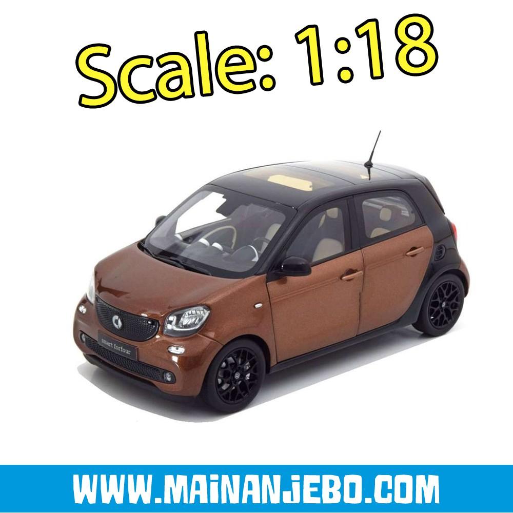 1:18 Norev Smart Forfour 2014 brownmetallic//black