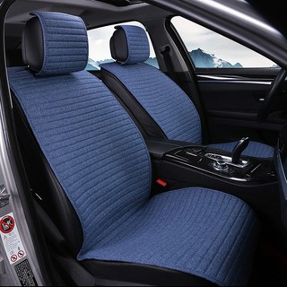 Seat Covers For Trucks >> 1 Piece O Shi Car Seat Cushion Linen Breathable Car Seat Cover Pad Fit Most Auto Truck Inside