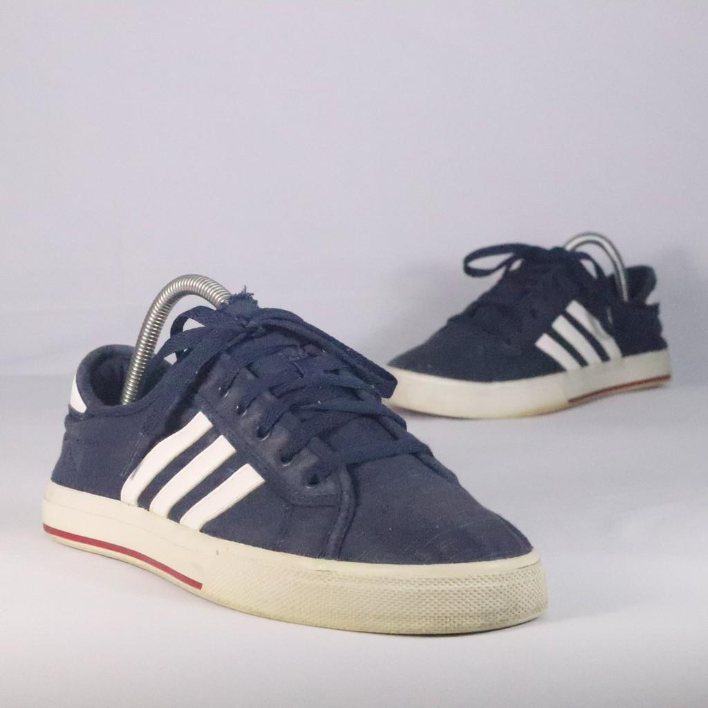 Sepatu SkateboardingSneakers Adidas Daily Bind Navy 43 13 ORIGINAL SECOND BEKAS