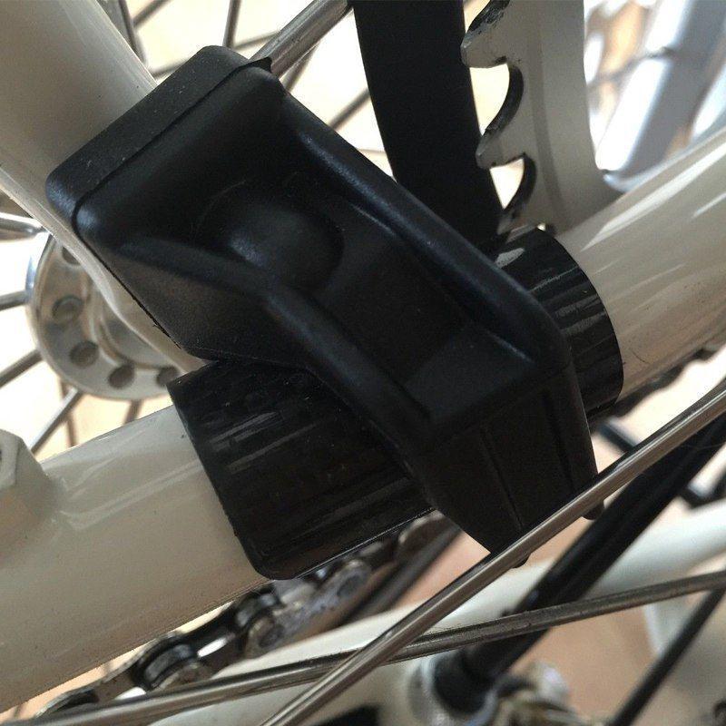 AGEKUSL Rear Frame Protector Chainstay Sticker Carbon Fiber For Brompton Bike