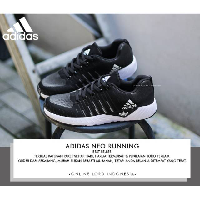 JUAL SEPATU ADIDAS NEO RUNNING IMPORT MURAH  100232ddae