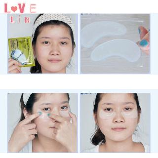 Lovelin 1PCS Gold collagen crystal eye mask to dilute fine lines and moisturize 4