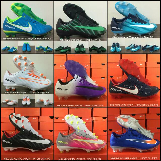 Sepatu Bola Desain Nike Mercurial Vapor xii Pro FG FG  6c7155ca87