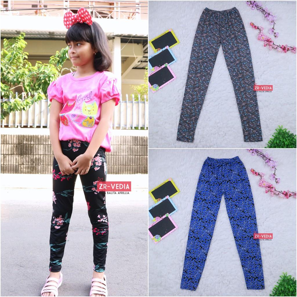 Legging Motif Anak 12 15 Tahun Remaja Tanggung Celana Panjang Perempuan Leging Salur Murah Adem Shopee Indonesia