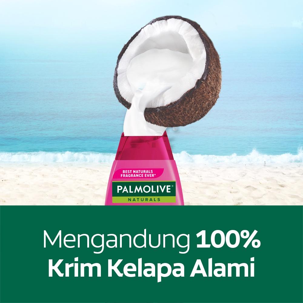 Palmolive Naturals Shampoo & Conditioner Intensive Moisture 180ml - Shampo Kondisioner (2pcs)-3