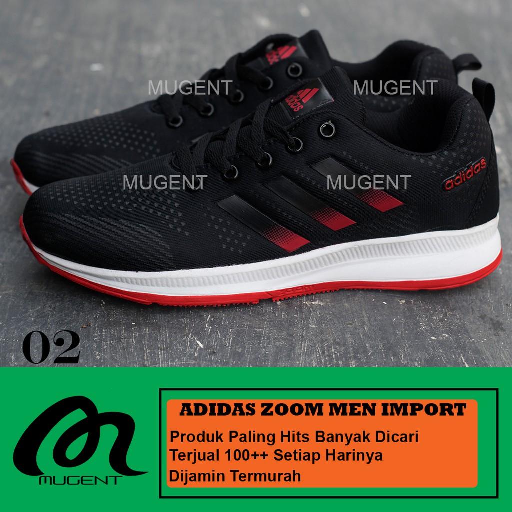 Original Sepatu Adidas NMD R1 Pria Wanita Olahraga Running Sneakers Red  6116f85d4d
