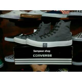 Sepatu converse all star chuck taylor ct 2 high hi UNDEFEATED grey white  original premium import fcd4e13e90
