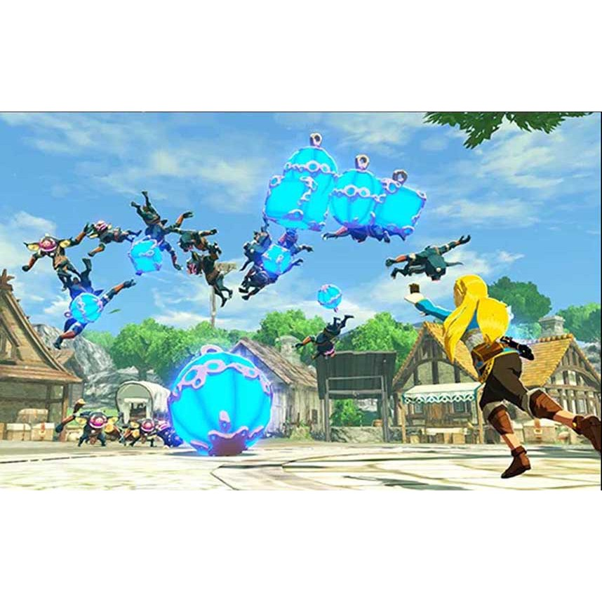 Paling Murah Switch Hyrule Warriors Age Of Calamity Free Sticker Shopee Indonesia