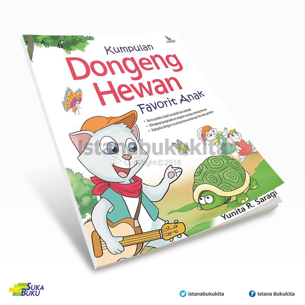Buku Kumpulan Dongeng Hewan Favorit Anak Shopee Indonesia