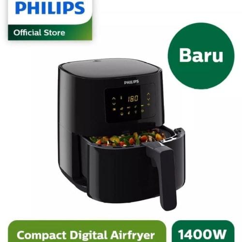 [alat-masak] Philips Air Fryer Spectre HD9252/90 HD-9252 Digital Airfryer Low Watt Limited