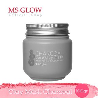 MS glow Clay mask Charcoal