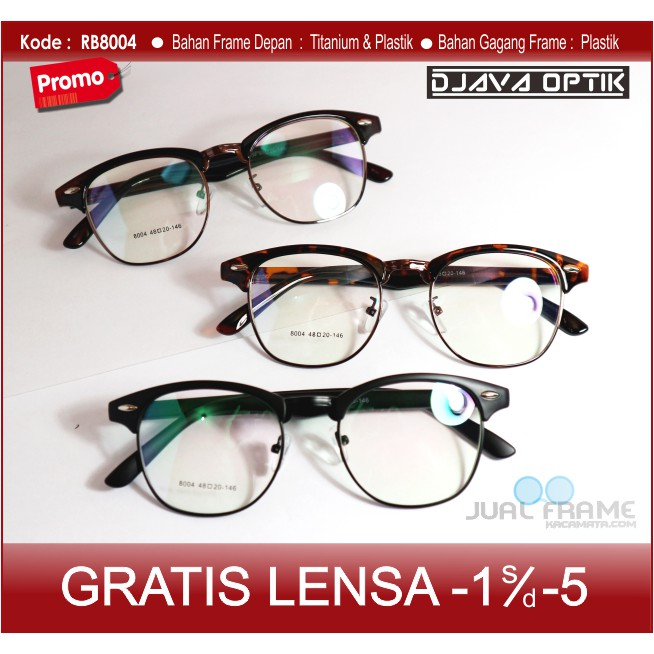 Best Seller  Paket lensa minus Frame kacamata LEONNY Gratis pasang lensa  minus anti radiasi  333213e467